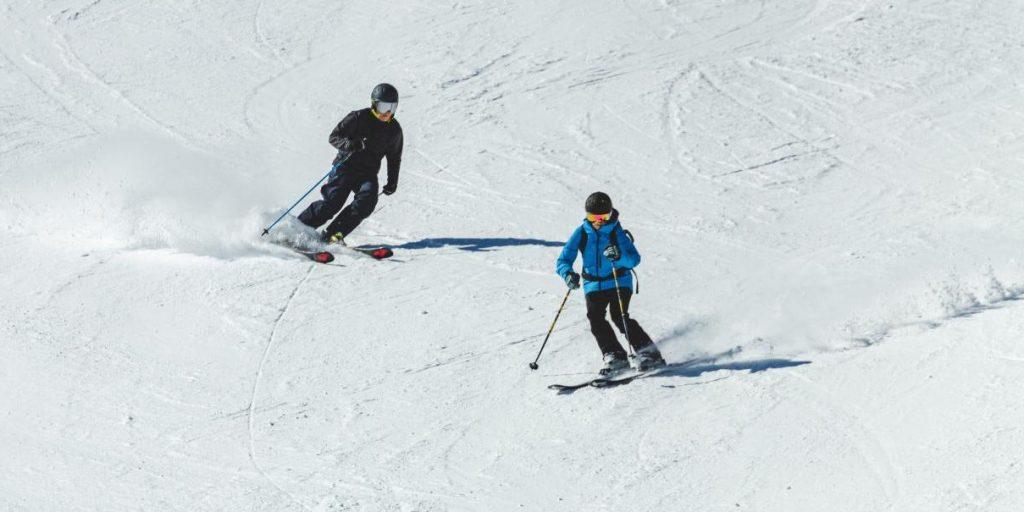 Skifahren Ski Schnee